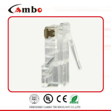 Cat7 enchufe de cristal blindado rj45