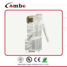 Cat7 protetor de cristal plugue rj45