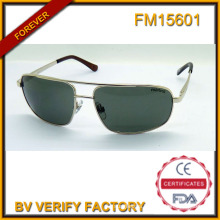 FM15601 Fashion Wholesale China Metal Sunglasses with Custom Brand