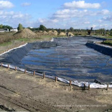 Doublure d'étang de EPDM de 1.2mm / toiture en caoutchouc / sous-couche