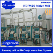 150t per day electrical easy Installation maize grinding milling corn milling machine