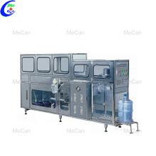 Ligne de remplissage automatique de bouteilles d'eau avec seau de 5 gallons