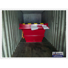 Hot Sale 13ft Rubbish Skip Offshore Container