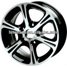 14 polegadas belo 4/5 buraco 100-114.3mm réplica carro esporte roda