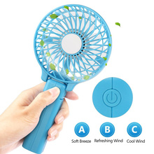 Mini Foldable Rechargeable Hand Fan USB Battery Operated