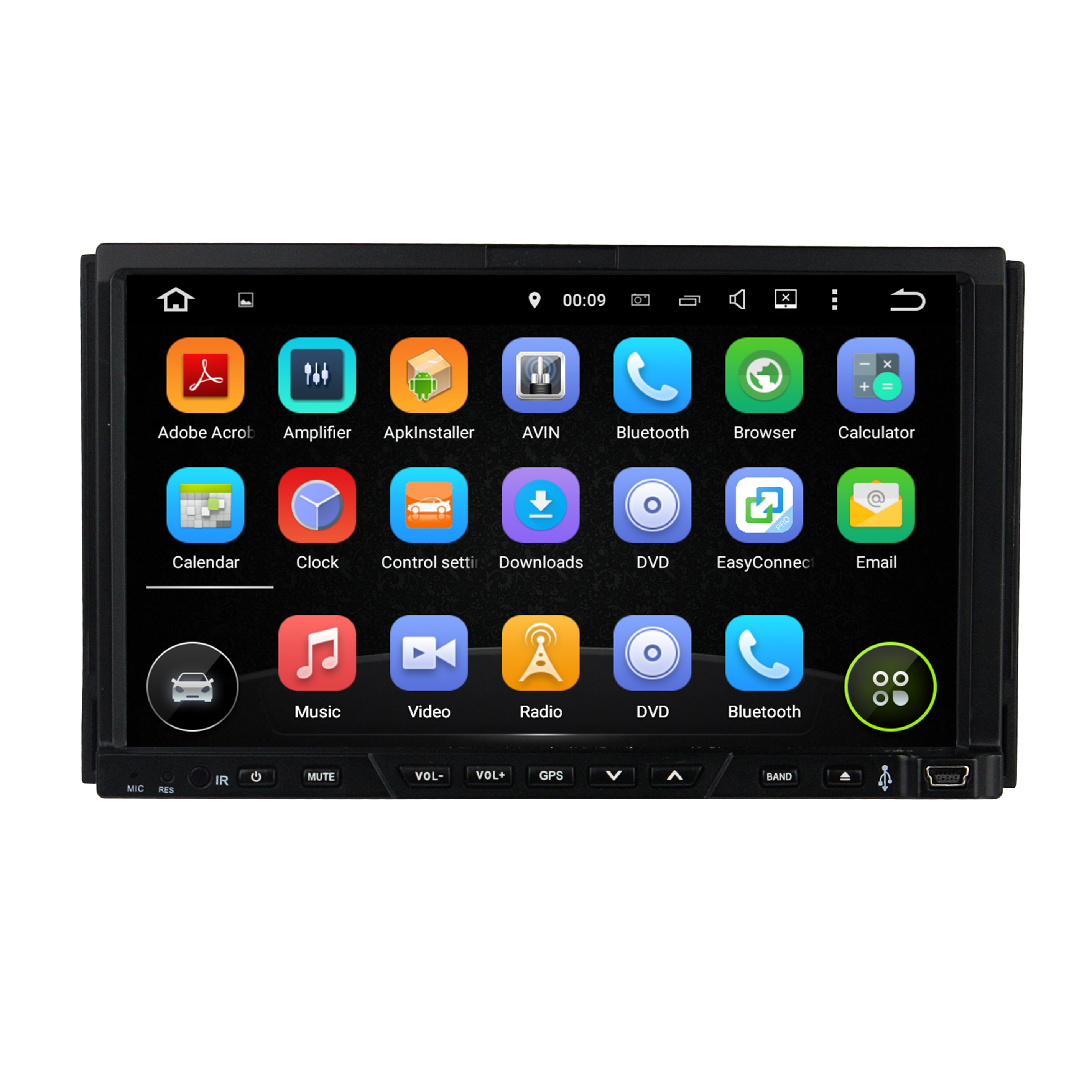 6.2 inch universal stere car dvd player