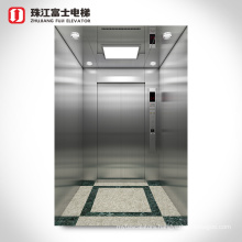 Zhujiang Fuji Elevator Motor Elevator Lifts Indoor Home Lift Home Hairline Stainless Steel Monarch