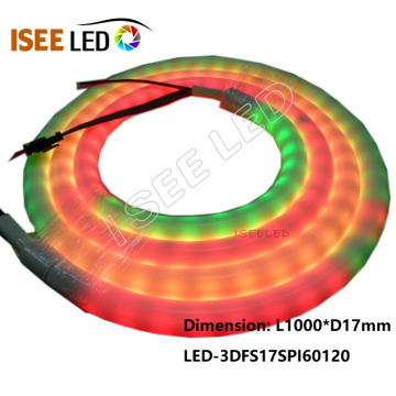 Mudança de cor 5050 RGB LED Neon Tube Strip