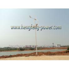 600W solaire & hybride Eolien lampadaire LED