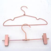 Hot Sale Copper Brass Color Hanger Metal Baby Hanger Set Hangers