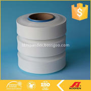 Makes fabrics with highly elastic yarns