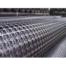 Geomalla biaxial PP, geomalla plástica biaxial para refuerzo de cimentación