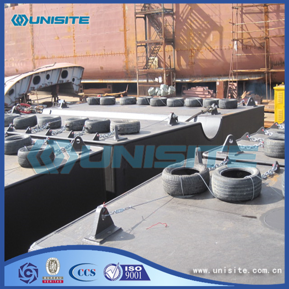 Marine Construction Steel Pontoons