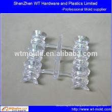 Pièces de corps en plastique transparentes