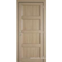 Tradtional Design Shaker Style Composite MDF Panels Internal Doors