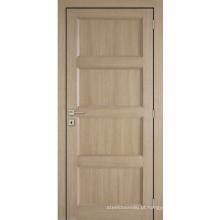 Portas internas dos painéis compostos do MDF do estilo do abanador do projeto de Tradtional