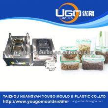 Zhejiang Taizhou Huangyan moldes contêineres de alimentos e 2013 New casa ferramenta de injeção de plástico caixa mouldyougo molde