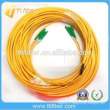 4 Fibres LC-LC 9/125 Ensemble de câbles en fibre pré-terminée multi-fibre à ventilateur à montage unique