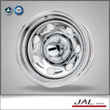 Shiny Silver Chrome Wheels 4x4 Räder Felgen Anhänger Felge