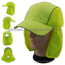 100% poliéster microfiltro ao ar livre protetora Work Cap (TMW0739)