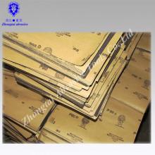 Yichang film abrasif papier abrasif de l'eau enlever la rouille du métal