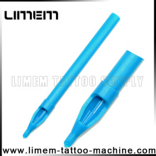 Professional Plastic Disposable Tattoo Tips all brand new hot sell blue long tattoo tip