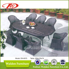 Patio Rattan Dining Table Set (DH-6075)