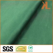 Polyester Inhärent Feuer / Flammwidriges feuerfestes grünes Satingewebe