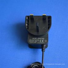 Великобритания Вилка BS 24В 0,5 а 12В 1000ма Импульсный источник адаптер