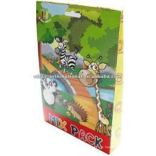 Lustiges pädagogisches Puzzlespiel 3d, pädagogisches hölzernes Alphabetpuzzlespielspielzeug