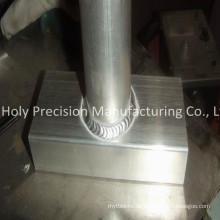 Präzisionsschweißen von Teilen, Aluminiumprodukt stempelnd