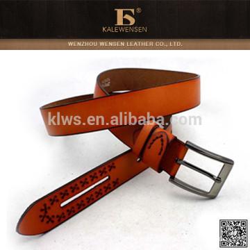 Hochwertiger echter Ledergürtel aus hochwertigem Leder