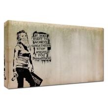 Graffiti Statement Art Paint Peintures en bois