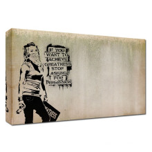 Pinturas de madeira da pintura da arte da indicação dos grafittis