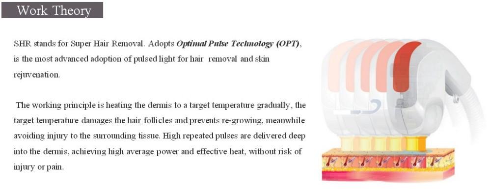 IPL Hair Removal Machine