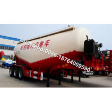Fly Ash 3 Axle 40cbm Cement Bulker مقطورة