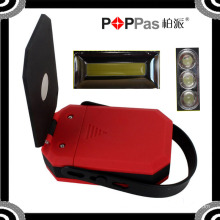 2015 Newest Poppas B70 360 Degree Rotation COB and 3 LED Magnetic Work Lamp