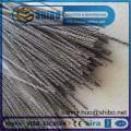 Fil de tungstène tordu de vente chaude de 0.76mm de prix usine dans la fabrication des bobines et des filaments enroulés