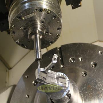 Componentes de aviación de aleación de titanio para fresado de 5 ejes