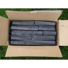 Sciure de bois sans fumée Charbon de bois Quadrangle Charbon de bois Briquette Mécanisme Fusain