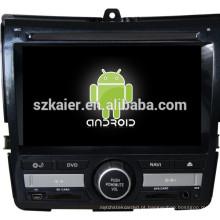 Android 4.4 Mirror-link Glonass / GPS 1080 P central dual carro multimídia para Honda Fit / Jazz com GPS / Bluetooth / TV / 3G