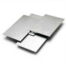 Placa / folha de molibdênio