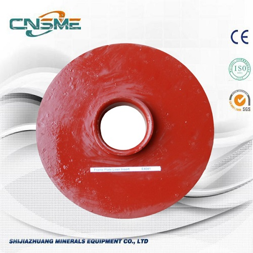 Slurry Pump Back Liner