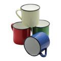 Tomada Personalizada 6/7/8/9/10/11 / 12mm Esmalte Tea Coffee Mug Cup