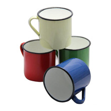 Taza personalizada de la taza de café del té del esmalte 6/7/8/9/10/11 / 12m m