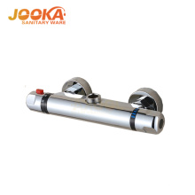 Thermostatic bath shower faucet mixer