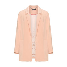 Open Front Boyfriend Blazer Suit Women Jacket
