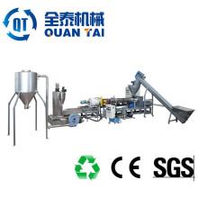 Máquinas Usando Plásticos Reciclados