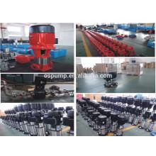 pompe centrifuge multicellulaire verticale de prix Pompe multicellulaire verticale d'acier inoxydable