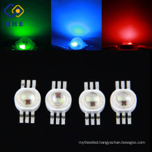HOT SALE PRODUCT High power led 6 pins RGB 3W LED for Flash light
